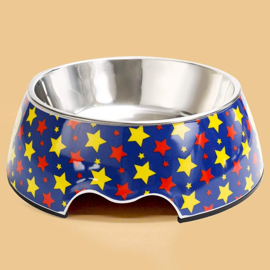 S MXD Pet Supplies Dog Bowl Cat Bowl Dog Pot Dog Food Bowl Cat Food Bowl Dog Drinking Water Non-Slip Rice Bowl (Size   S)