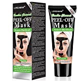 Blackhead Remover Mask,Black Mask,Charcoal Face Mask,Purifying Peel-off Mask with Activated...