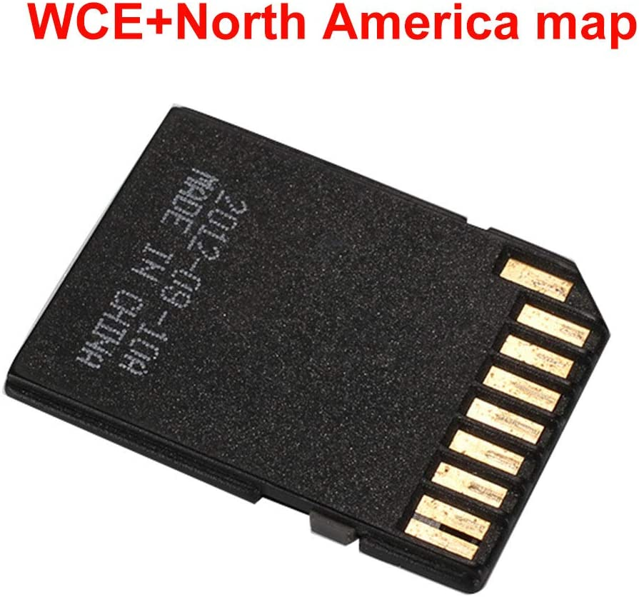 CAIDUD-16GB Class 10 Memory Card 1 TF Card 1 Card Set GPS WCE System Map of Europe