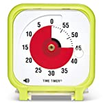 Time Timer Original 3 Inch (Lime Green); 60 Minute Visual Analog Timer