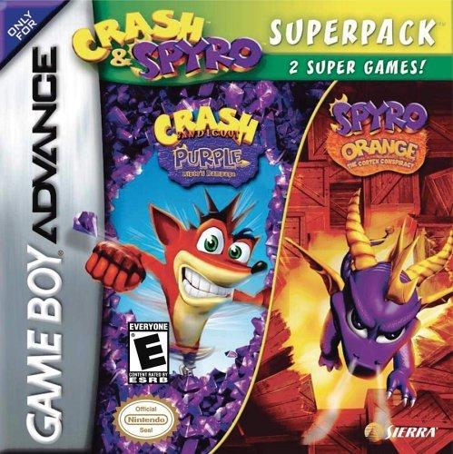 Crash Super Pack - Crash and Spyro Super Pack by Vivendi Universal