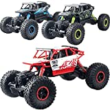 Toy, Play, Game, RC Rock Racing Vehicle Cars 2.4Ghz High Speed 1:18 Remote Radio Control Electric Crawler Buggy Hobby Car Crawler Truck F @ZJF, Kids, Children