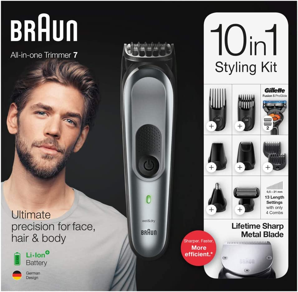 Afeitadora corporal Braun MGK3085