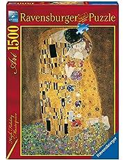 Ravensburger–16290–Classique–Klimt The Kiss Jigsaw Puzzle–1500Pieces