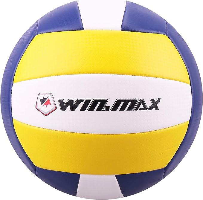 Schildkr/öt Fun Sports Balle de volley de plage pompe Taille 5 Multicolore