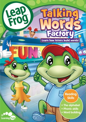 Leap Frog Talking Word Factory: Learn how letters build words (Leapfrog Word Factory Dvd)