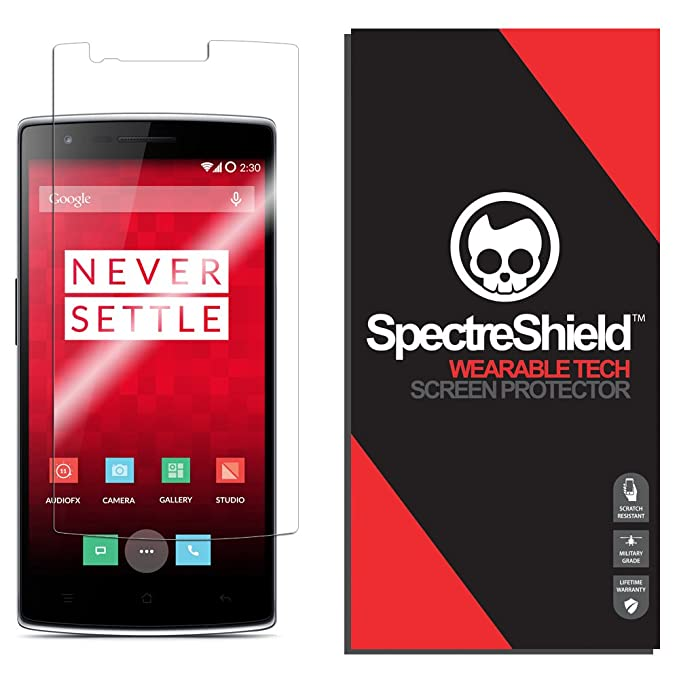 OnePlus One Screen Protector Spectre Shield Accessory Screen Protector for  OnePlus One Case Friendly Full Coverage Clear Film