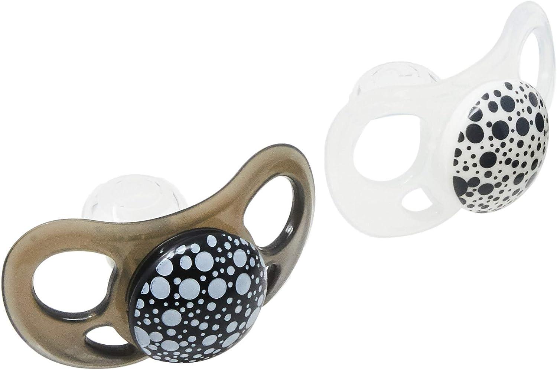 Twistshake 78086 - Chupete, color negro blanco: Amazon.es: Bebé
