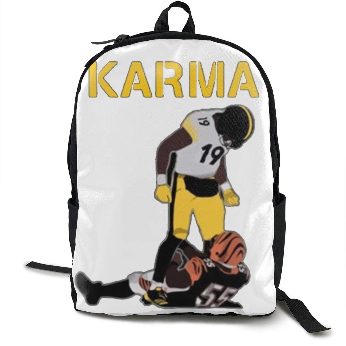 newest bacc9 6ce34 Amazon.com: Mnakna822mmakd Steelers Karma Juju Smith ...