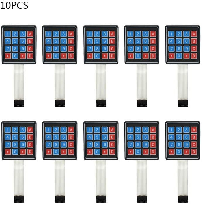 lecimo 1//2//5//10pcs 4 x 4 Matrix Array Key Membrane Switch Keypad Keyboard