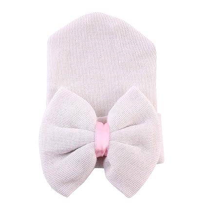 TININNA Unisexe Bonnets Nouveau né Laine Crochet Papillons Chapeau Bébé  Garçon Fille Naissance Tricot Hat Cap 81643232272