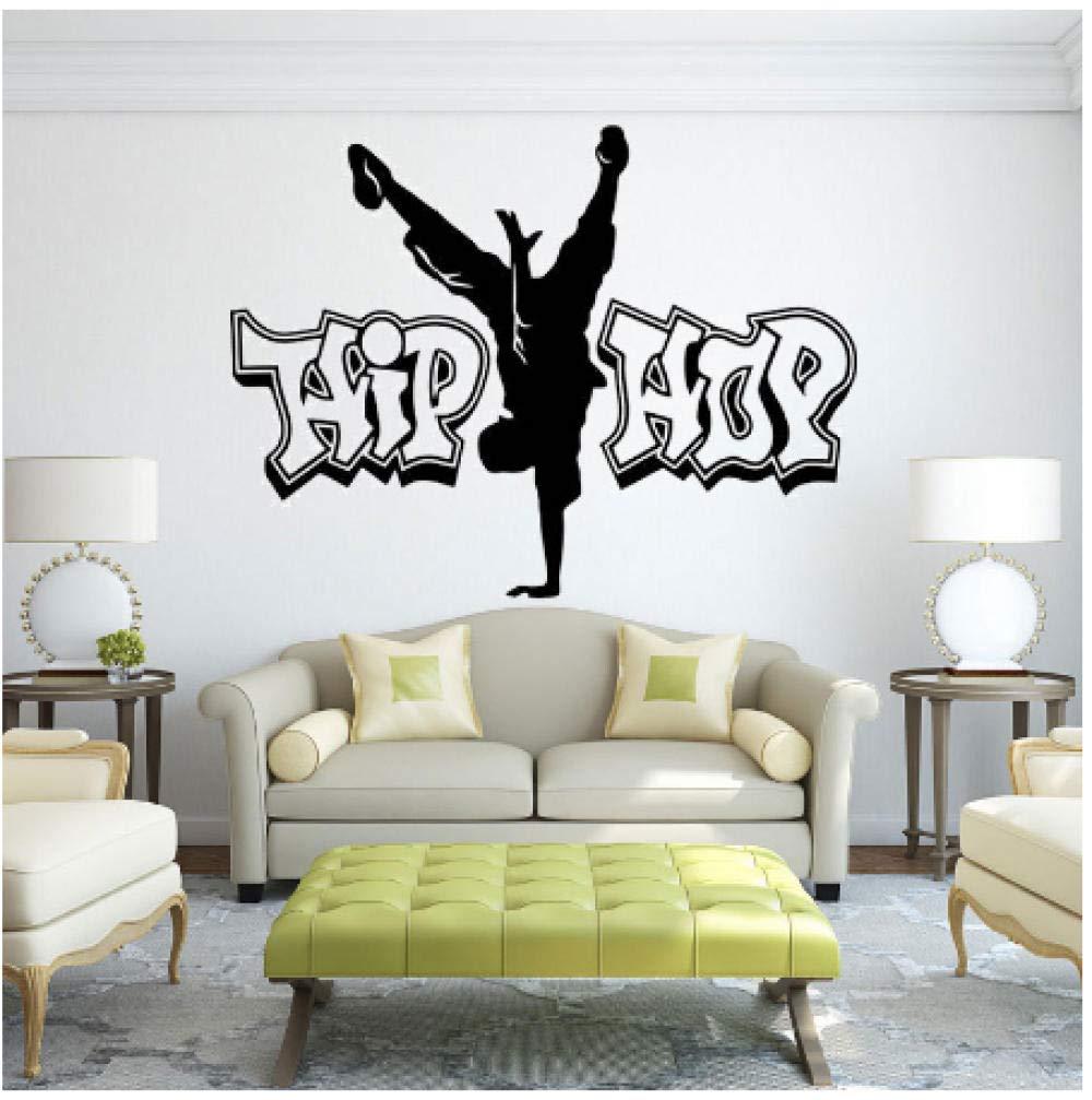 Hip-hop Tatuajes de pared Adhesivo de vinilo de baile callejero ...