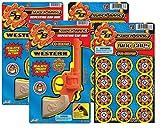 super bang cap gun - Master Toys Super Bang 2 Cap Pistol + 2 Pack Ring Caps Bundle Set - Western-Themed Gun Toy - For Children 8 Years Above