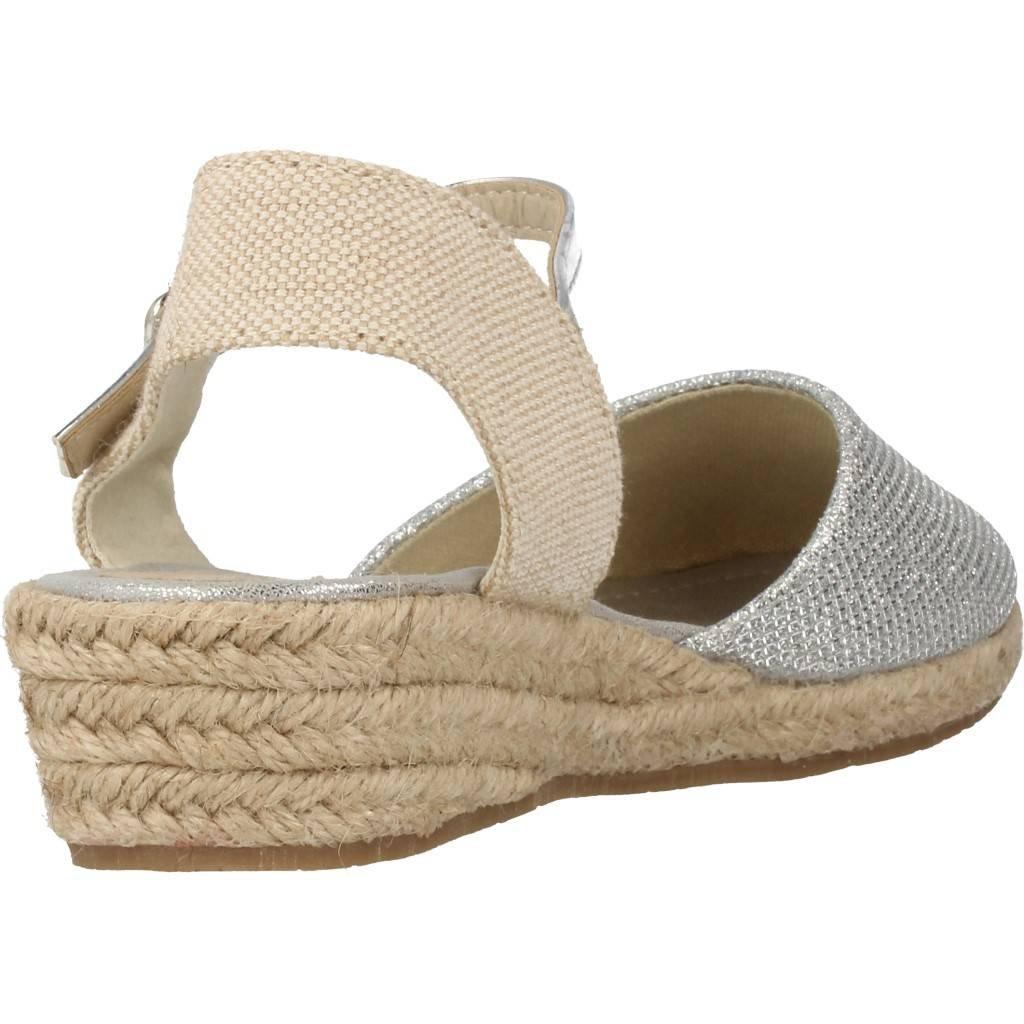Conguitos Esparteñas con Cuña Baja para Niña HV5 55559 Oro: Amazon.es: Zapatos y complementos