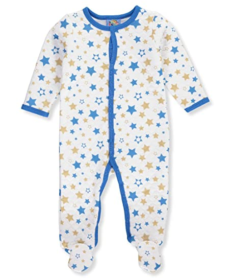 Amazon Com Sweet Soft Baby Boys Footed Coverall Clothing