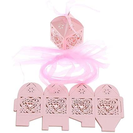 25pcs dulce de caramelo Cajas cinta Titular de caramelo del ...
