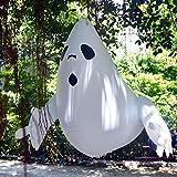 Aoile Globo Colgante Inflable para la decoración al Aire Libre del Partido de la Barra del Centro Comercial de la Yarda de Halloween Ghost