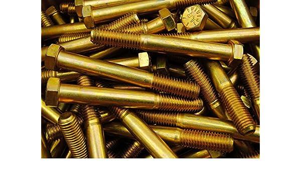 Hard-to-Find Fastener 014973254193 Grade 8 Coarse Hex Cap Screws Piece-10 9//16-12 x 5