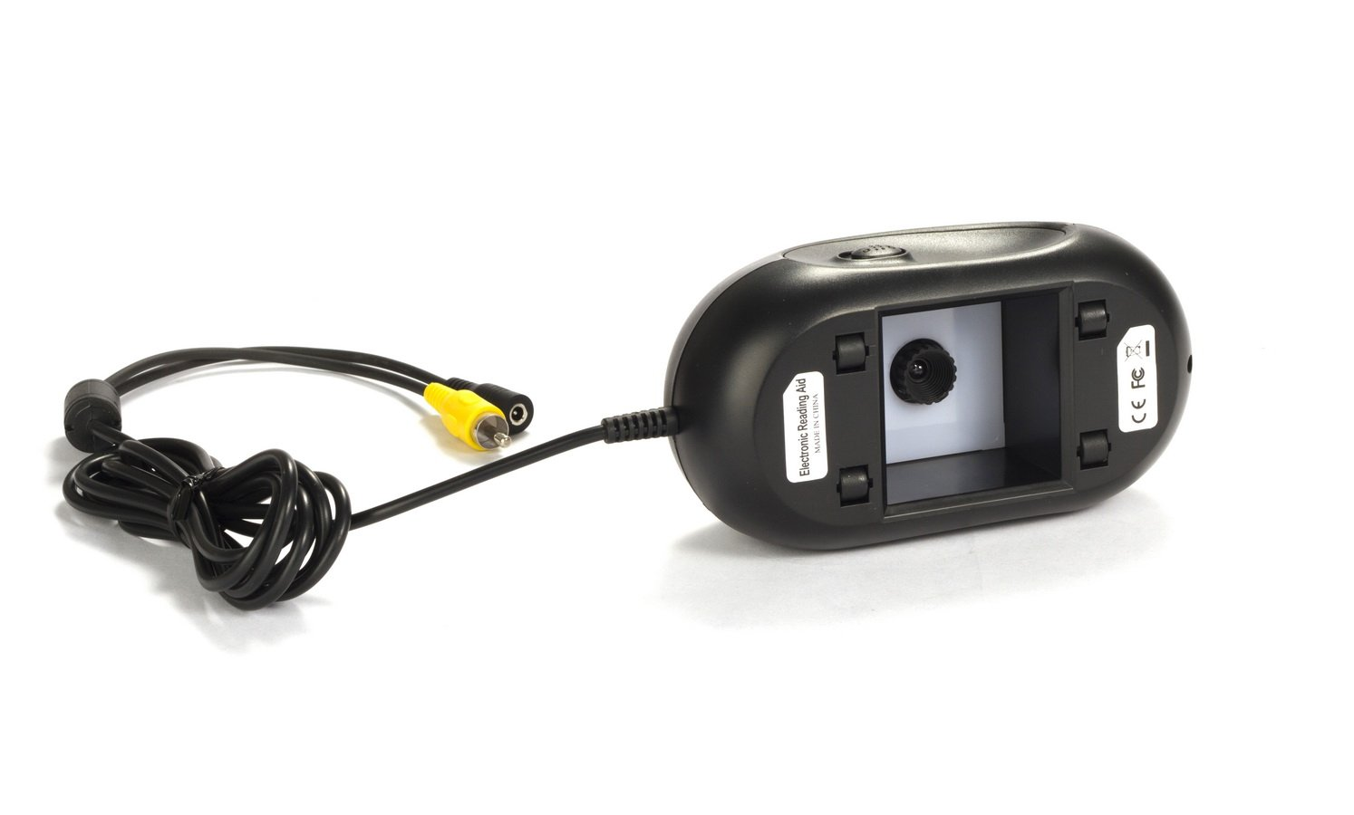 Mustcam TV Magnifier Electronic Reading Aid with 4 Color Modes, Freeze, TV-out to any Monitor with TV-in by Mustcam