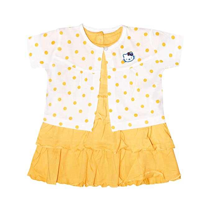 Amazon.com: Naranja y orquídea bebé de algodón para niñas ...