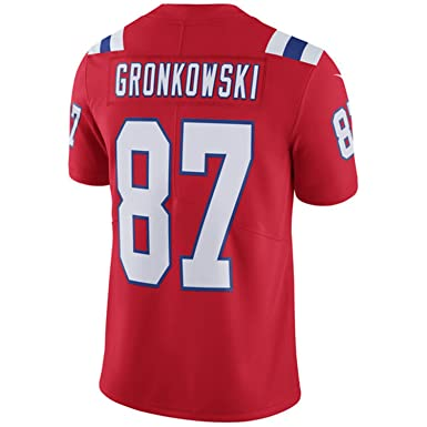 de0b09929 ... germany nike 87 new england patriots rob gronkowski mens alternate red  football jersey medium c851d 3a989
