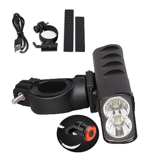 Juego De Luces LED Para Bicicleta, Faro LED Para Bicicleta Luz ...