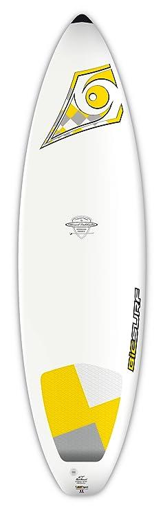 BIC Sport Dura-Tec Tabla de Surf, Blanco/Amarillo: Amazon.es: Deportes y aire libre