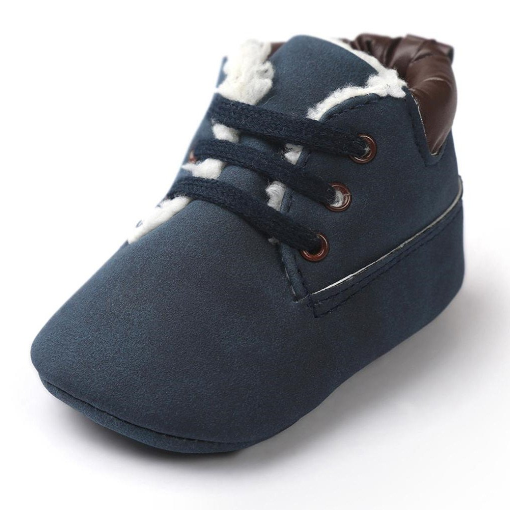 【正規通販】 efasterベビー幼児ソフト暖かいソールレザーシューズ幼児少年少女幼児用靴 B01LZGYMG7 0 Months - - 6 Months B01LZGYMG7, シラサワムラ:03dc13dc --- a0267596.xsph.ru