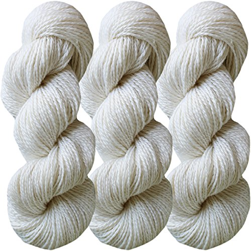 Living Dreams FLAX BOTANICA DK YARN. Elegant Merino Linen Silk for Knitting and Crochet. Cruelty Free, Responsibly Sourced, Pacific Northwest Handmade…