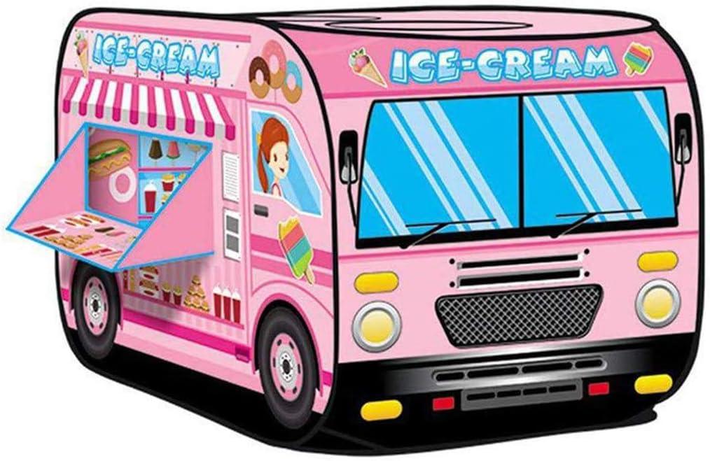 Tenda da gioco a tema Girl Pink Ice Cream per bambini Indoor /& Outdoor Play
