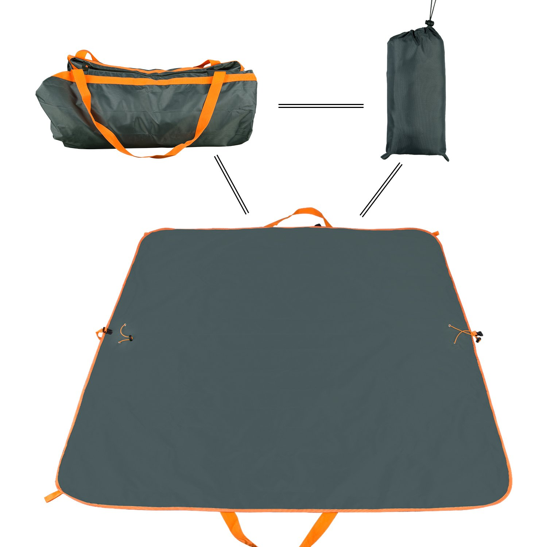 NAVESTAR Waterproof Sand-Proof Picnic Blanket, Multipurpose Portable Beach Mat & Tote for Stadium Outdoor Camping