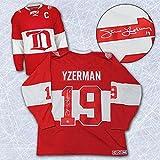 Steve Yzerman Signed Jersey - 2014 Winter Classic Alumni - Autographed NHL Jerseys