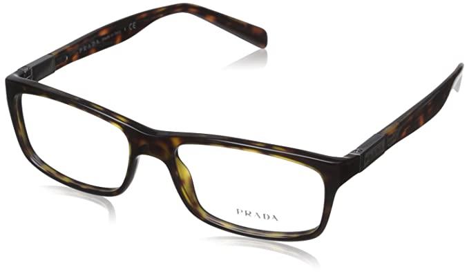 Prada Eyeglasses VPR02O VPR/02O 2AU-1O1 Havana Full Rim Optical ...