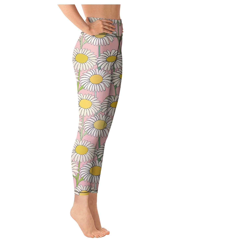 9051206d1da6d Long Camping Daisy Sunflower Leggings Women Ultra Soft Fitness Yoga Pants at  Amazon Women's Clothing store:
