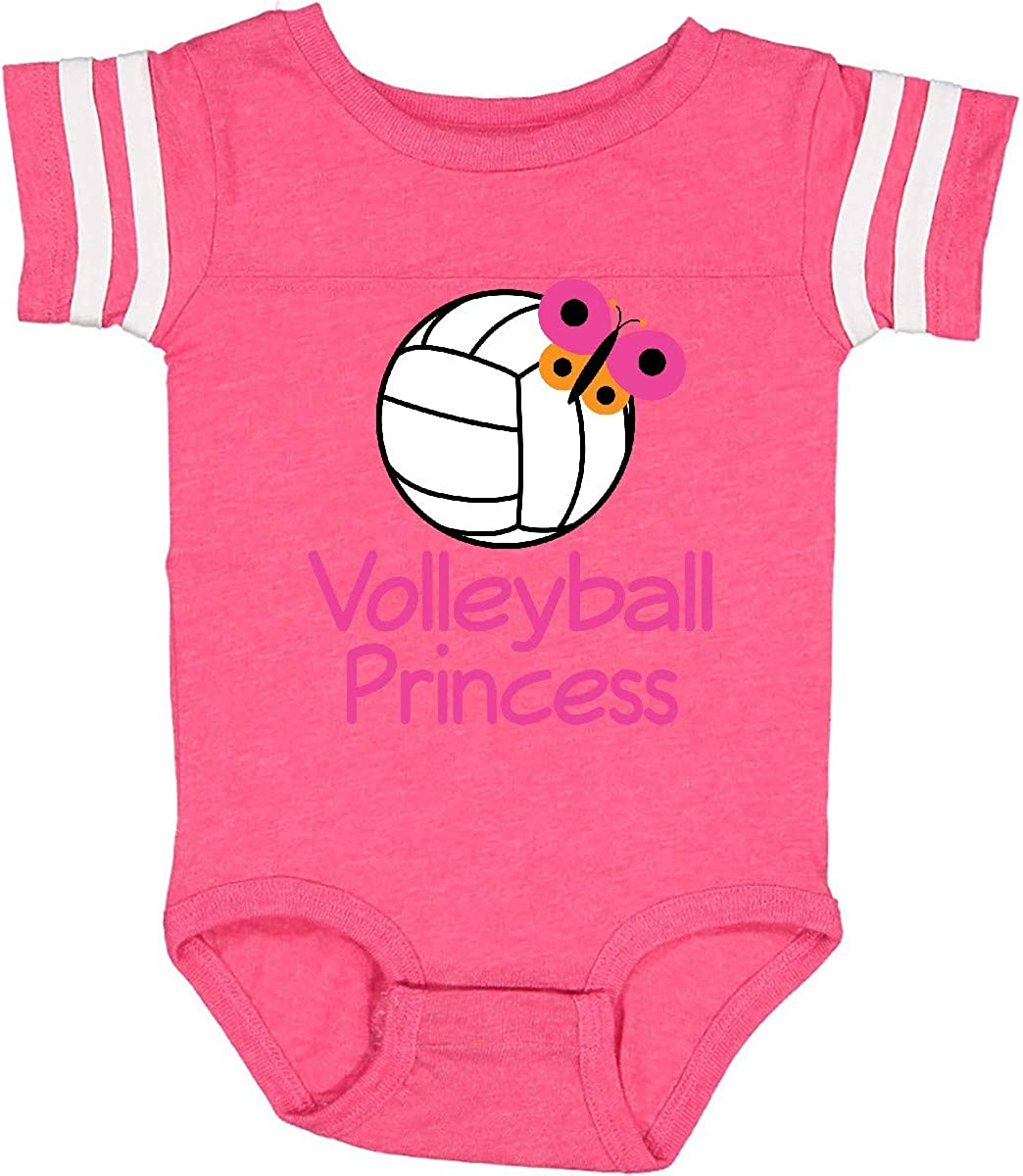 inktastic Volleyball Butterfly Princess Toddler T-Shirt