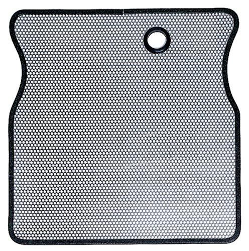 Rugged Radiator Ridge - Rugged Ridge 11106.01 Stainless Radiator Bug Shield