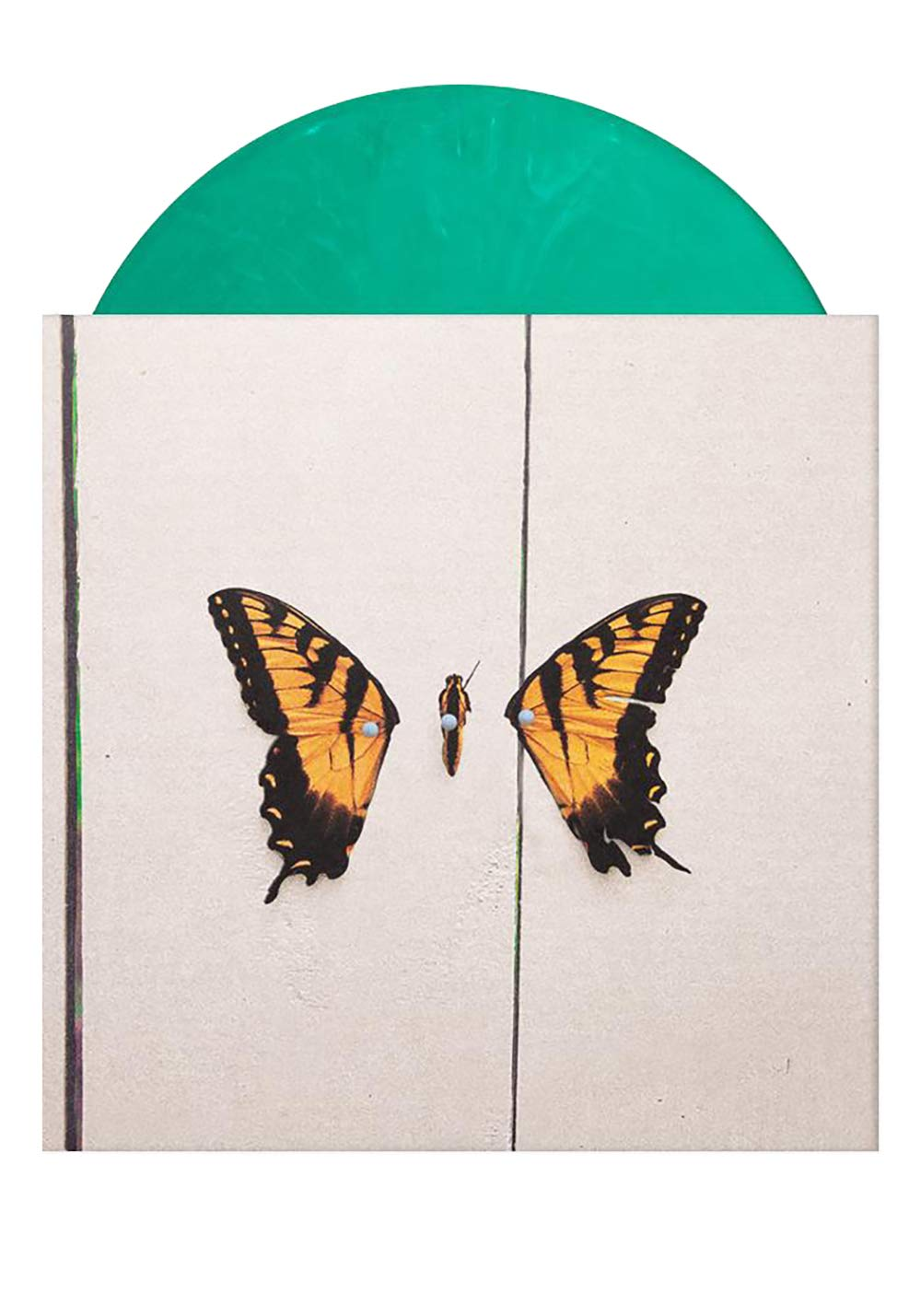 Brand New Eyes - Exclusive Limited Edition Green Smoke Vinyl LP by Ramen