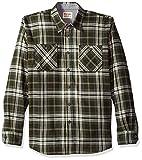 Wrangler Authentics Men's Long Sleeve Flannel Shirt, rosin, X-Large