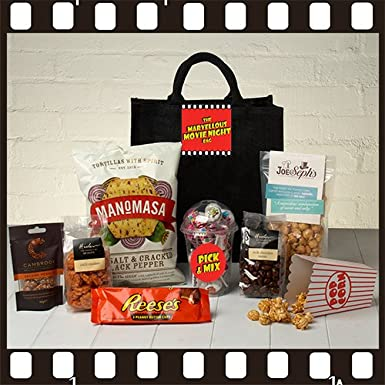 The Marvellous Movie Night Tote Bag Amazoncouk Grocery