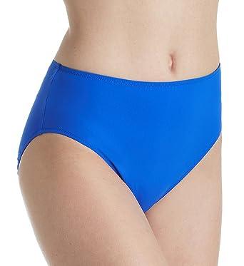 5fb684590a0c8 Amazon.com: Gottex Lattice High Leg High Waist Brief Swim Bottom (18LAP08):  Clothing