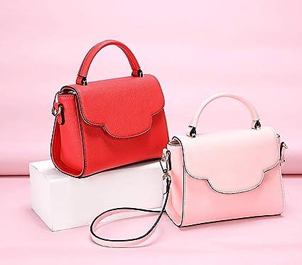 83c0e2dc4e3 KKGG Boutique Marca Joven Dama Bolso de Mano Chica Joven Bolsa de Cuero  Utilizado para Llevar cosméticos, billeteras y Otros Productos de la  Mujer-Estilo B: ...