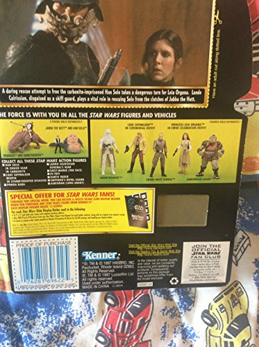 Qiyun Star Wars Lando Calrissian Skiff Power of The Force Kenner Action Figures Toys 076281696225