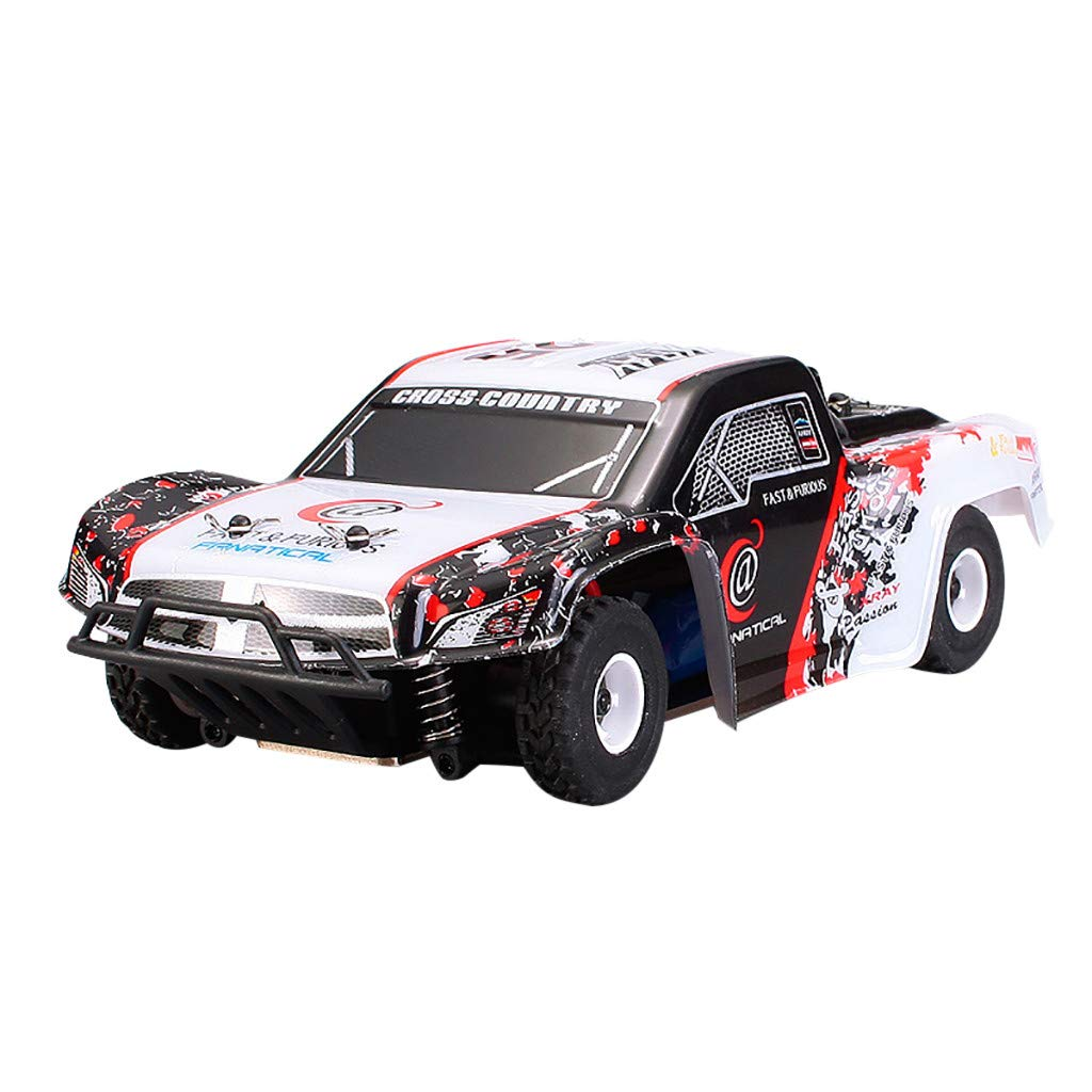 1:28 Remote Control RC Racing Car 2.4Ghz 4WD High Speed Off Road RC Car Electric Remote Control Truck RC Drift Car Toys for Kids & Adults by DaoAG (Image #1)