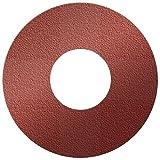 A&H Abrasives 817787, 5-pack, Sanding Discs, Aluminum Oxide, (x-weight), 10x3-1/2'' PSA Aluminum Oxide 120 Grit Cloth Sander Disc