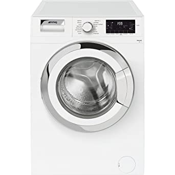 Smeg WHT814EES Independiente Carga frontal 8kg 1400RPM A++ Blanco - Lavadora (Independiente, Carga frontal