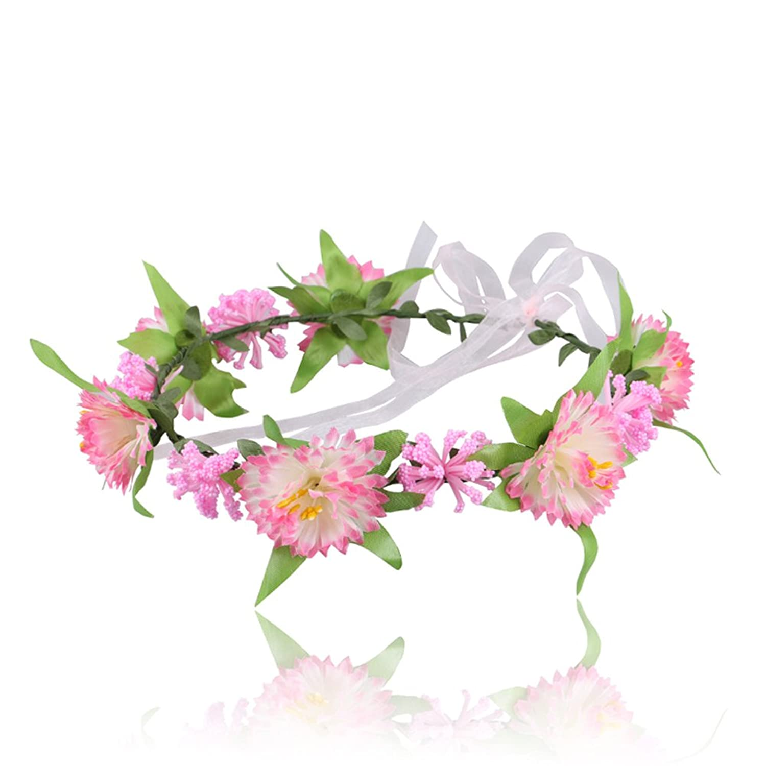 LD DRESS The stars Wreath Headband Crown Floral Garland for Festival Wedding