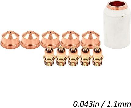 10 pc Trafimet CONSUMABLES tips  S75 Nozzle Kit 1.2 mm