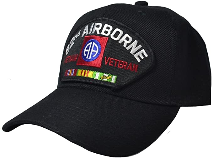 aa5c5f514012e Image Unavailable. Image not available for. Color  Military Productions 82nd  Airborne Division Vietnam Veteran Cap