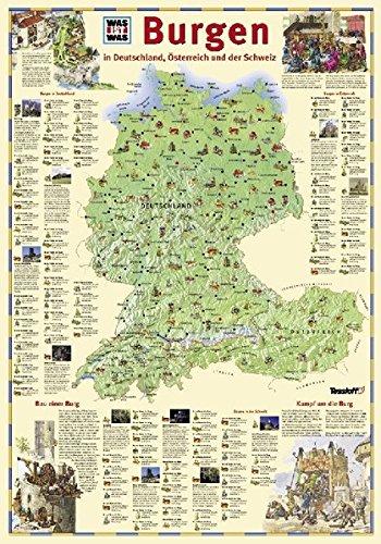 burgen deutschland karte Burgen (WAS IST WAS   Atlanten/ Globen): Amazon.de: Bücher
