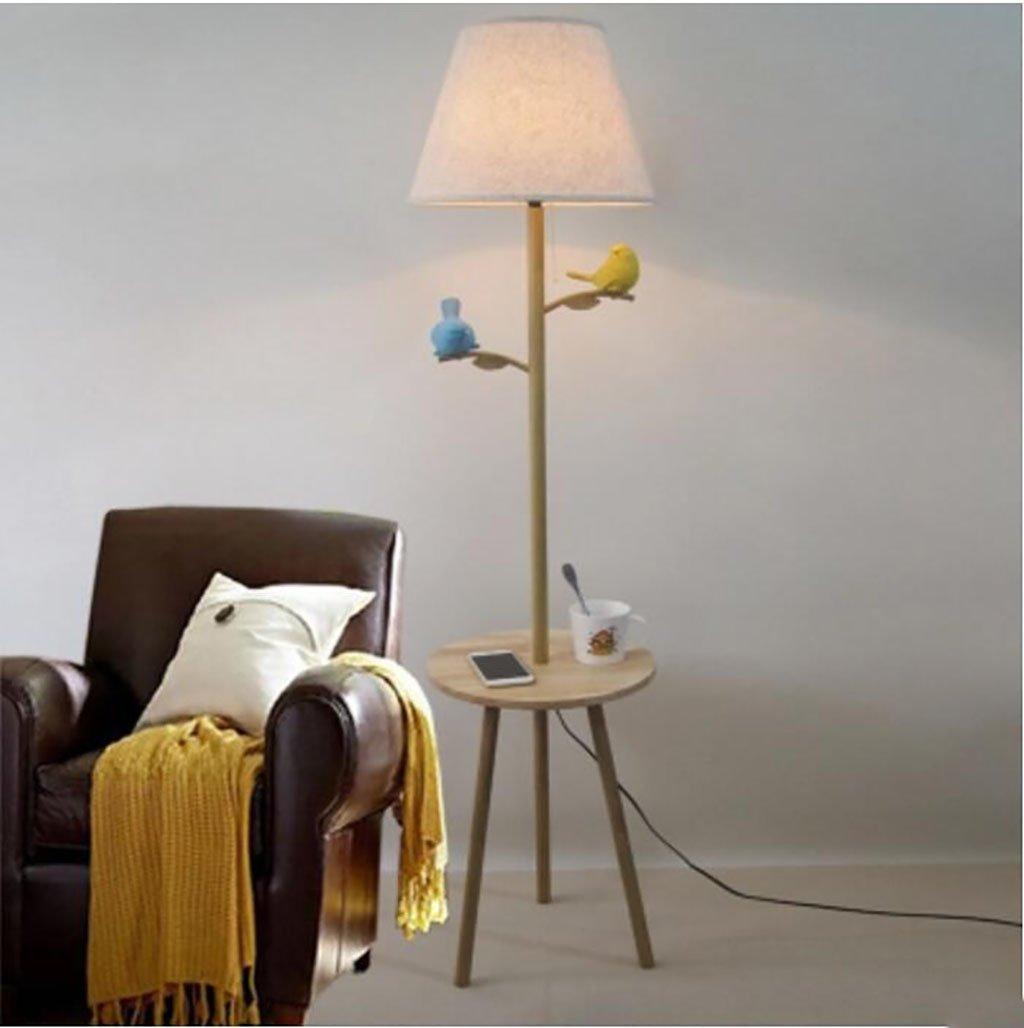 Fql Amerikanischen Land Vogel Stehlampe Wohnzimmer Sofa Massivholz
